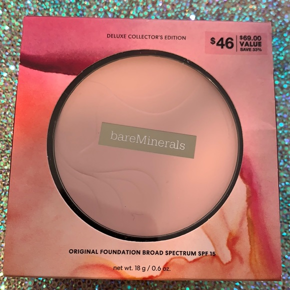 BARE MINERALS deluxe collector's orig. foundation